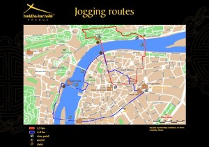 Buddah Bar Jogging Map Prague