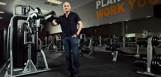 Agassi with BILT 20