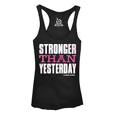sstronger than yesterday